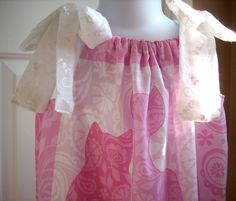 Baby dress toddler dress girls dress pillowcase dress by LocalLucy, $18.00