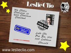Leslie Clio - From the Cliotics with love ❤❤❤ #leslieclio #loveletter
