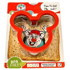 Crusty's Mickey Mouse Sandwich Cutter - High Quality Stainless Steel Crust and Cookie Cutter >>> Startling review available here  : Baking Tools and Accessories