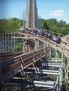 Voyage, Holiday World, IN. I'll ride this before I die.