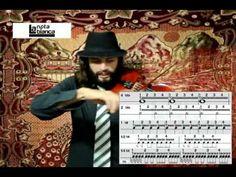 La nota blanca - Leer partitura (1 de 2) - YouTube