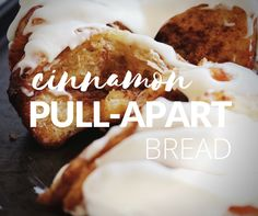 This cinnamon loaf recipe offers a delicious twist on the classic cinnamon roll idea. Layers of butter, brown sugar, and cinnamon are sandwiched between soft, fluffy yeast dough; a drizzle of rich cream cheese glaze completes this sweet, irresistible treat that you won't be able to wait to dig into! Cinnamon Loaf, Cinnamon Pull Apart Bread, Cinnamon Rolls, Cream Cheese Glaze, Loaf Recipes, Latest Recipe, Baking Tips, Brown Sugar, Sandwiches