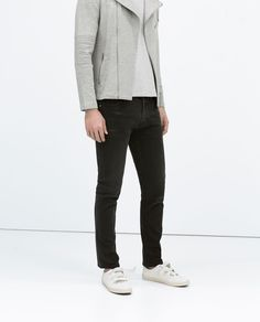 Image 3 of COLORED SLIM-FIT JEANS from Zara