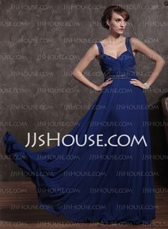 Mother of the Bride Dresses - $200.00 - A-Line/Princess V-neck Floor-Length Chiffon Charmeuse Mother of the Bride Dresses With Ruffle Beading (008014860) http://jjshouse.com/A-line-Princess-V-neck-Floor-length-Chiffon-Charmeuse-Mother-Of-The-Bride-Dresses-With-Ruffle-Beading-008014860-g14860