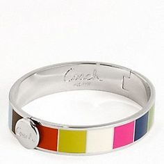 Coach bracelet..just got this and I love it!