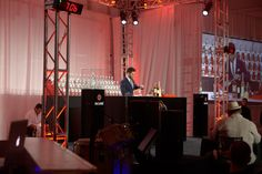 Competition of Bartenders to make the best tasting coctails made of Bacardi Products