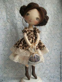 Коллекционные куклы ручной работы. Ярмарка Мастеров - ручная работа Кофейная феечка. Handmade.