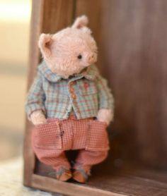 Mister Pig by By Olya Isaenkova | Bear Pile
