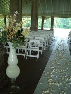 Have you wedding at the Rockcliffe Park Pavilio overlooking the Ottawa River Wedding Reception Venues, Wedding Ceremony, Ottawa River, Park Pavilion, Pavilion Wedding, Wedding Wishes, Gazebo, Dining Table, Table Decorations