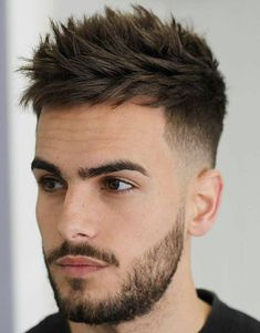 Hair Style Men 17 Cool Thick Hair Hairstyles  Haircuts For Men 2018  Pinterest