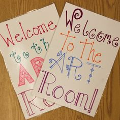 Home Sweet Art Room: Creating a Welcoming Environment  Although many students love art, some may still be shy about school in general, especially at the beginning of the year. Here are four ways to make students feel more at home in the art room this school year.