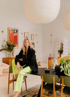 House tour: inside supermodel Elsa Hosk's uber-chic Soho loft - Vogue Australia Vogue Home, Soho Loft, Interior Styling, Interior Design, Vogue Living, Living Spaces, Living Room, Elsa Hosk, Dream Apartment