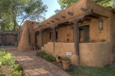 New Mexico Adobe Home In our next life...Tom and I will live in Cambria and still have two cats and Pedro...