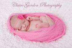 Pink Cheesecloth .. Photography Prop - Baby Wrap, Newborn Wrap, Cocoon - OVER 64 INches (COmes with HOw to wrap LInk)  HIgh Quality. $11.50, via Etsy.
