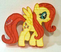 Tarta golosinas My Little Pony Fluttershy