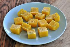 Mango and Lime Jellies