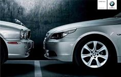 "This is one of BMW's ads in Spain. Putting a play on the phrase ""scaredy cat"", it shows the trademark Jaguar hood ornament running away in fear from a BMW in a face-off. Best Adverts, Good Advertisements, Creative Advertising, Print Advertising, Advertising Campaign, Marketing And Advertising, Marketing Meme, Ads Creative, Bmw Series"