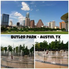 Free Fun in Austin: Splash Pad Feature: Liz Carpenter Fountain
