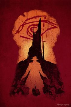 The Dark Tower art by Megan Lara, series by Stephen King