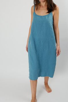 Hey, I found this really awesome Etsy listing at https://www.etsy.com/listing/228141937/linen-thin-strap-dress