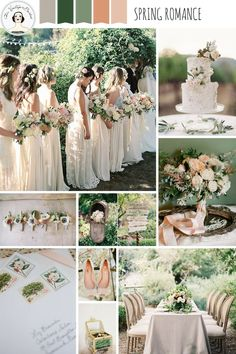 Spring Romance – Garden Wedding Inspiration in Pretty Pastel Shades of Peach, Blush and Green wedding colors schemes pastels A Romantic Spring Wedding Inspiration Board Spring Wedding Colors, Spring Wedding Inspiration, Green Wedding, Our Wedding, Wedding Flowers, Summer Wedding, Trendy Wedding, Pastel Wedding Colors, Wedding Tips