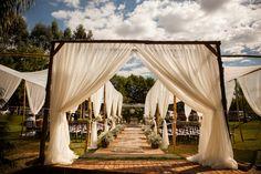 Decoração para casamento no campo - Foto Gouveia & Roenick