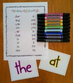 4 Great Sight Word Activities