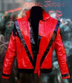 Michael Jackson Thriller Jacket made with Duct Tape
