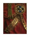 Detail of God the Father, Central Panel of the Ghent Altarpiece, 1432 Giclee Print by Hubert & Jan Van Eyck