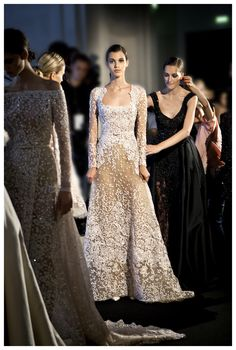 Elie Saab backstage - For more like this click on the image or follow us and do not forget to repin!