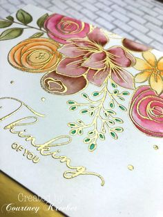 Day Simon Says Stamp Card Kit October 2018 – Courtney's Paper Crafting Day Simon Says Stamp Card Kit October 2018 – Courtney's Paper Crafting Embossed Cards, Simon Says Stamp, Watercolor Cards, Watercolour, Card Sketches, Card Kit, Sympathy Cards, Flower Cards, Flower Stamp