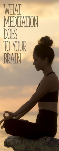You get calmer, you can focus better, your stress levels are reduced, and you can sleep better. Additionally, this seemingly simple exercise of closing the eyes and tuning inwards can actually make lasting physical changes in your body! Guided Meditation, Meditation Mantra, Meditation Benefits, Meditation Practices, Meditation Music, Healing Meditation, Meditation Space, Meditation For Beginners, Meditation Techniques