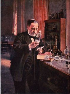 """Louis Pasteur discovered that most infectious diseases are caused by germs, known as the """"germ theory of disease,"""" it is one of the most important discoveries in medical history."""
