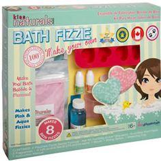 Kiss Naturals Make Your Own Bath Fizzies Kit