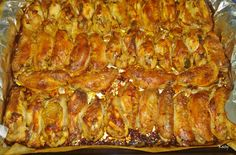 Alitas de pollo con finas hierbas y miel