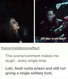 Tbh, it's one of my fave scenes from second Thor xD