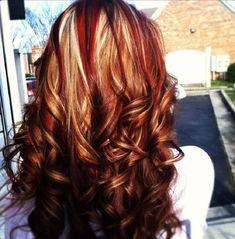 three tone hair color ideas - Google Search