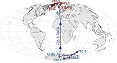 Earth's magnetic field could flip within the next 100 years, a new study suggests. Image: UC Berkeley