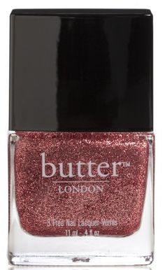 Pale Pink Glitter Nail Polish – Rosie Lee : butter LONDON
