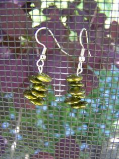 Olive Your  Earrings by RukaDoll on Etsy, $4.95