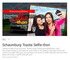 Get in on this if I were you! #SchaumburgSelfiethon @resnickauto #resnickautogroup Schaumburg Toyota, Visa Gift Card, Thing 1, Photo Contest, Selfie, Cars, Pageant Photography, Photography Challenge, Autos