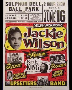 Jackie Wilson...