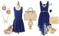 vestido azul para fiesta - Buscar con Google