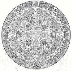 My Aztec symbol IANA VERGARA