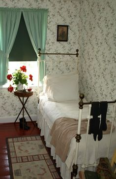 """small room typical of most farmhouses....nice guest room or for the """"hired hand""""…"""