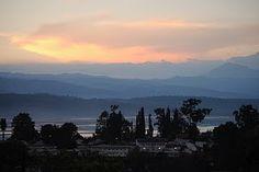 Lake Kivu in Bukavu, DR Congo