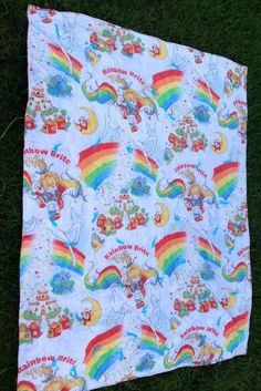 Rainbow Brite Blanket By Lishyloo On Etsy 18 00