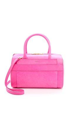 pink satchel