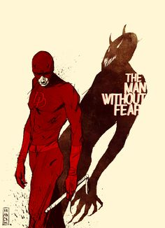 #daredevile #comics Gilles Vranckx: The man without fear...