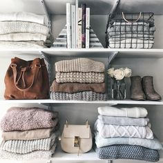 Sweater Organization | Styled Snapshots